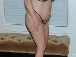 Leopard bra & panties