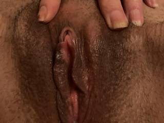Just been fucked and full of cum