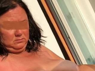 More of the wife\'s big saggy tits