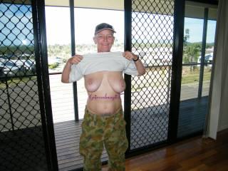 those titties look great n everything or nothing--lol