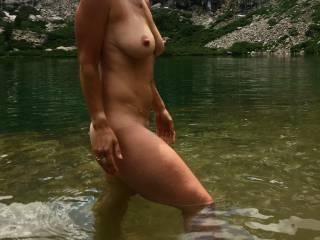 Cold water = hard nipples ;)