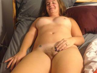 Getting slightly more comfortable love the comments keep em cumming making her horny