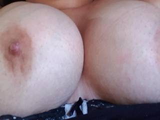 Just woke up but my breasts felt like saying goodmorning. Would you kiss them as a way to say it back?