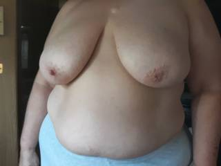 Love these nice big titties, who wants to help me lick and suck them?