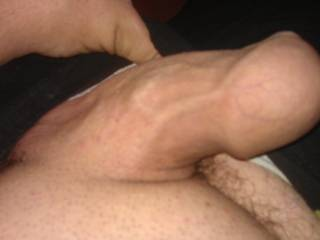 This cock needs sucking any offers. A good pussy licking in return