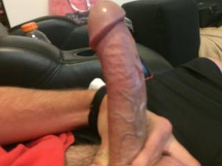 Let me run my tongue all over that nice cock of yours.