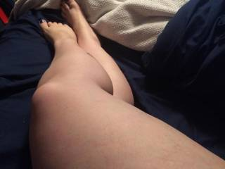 they are very sexy, i'd put your feet around my hard cock and have you spread your legs and play with your pussy, then i'd climb up them and give you a good licking until you are begging me to fuck you!