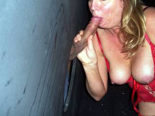 More stranger cock at the gloryhole