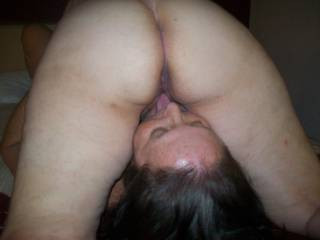She loves the taste of pussy, especially cum filled pussy