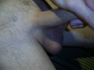 I love stroking my cock but would prefer you to do it ..