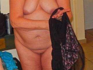 She is my 61 y/o wife.What you think about her mature body?