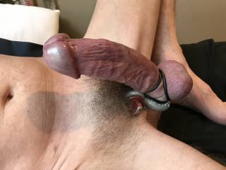 Hard in my new steel toy