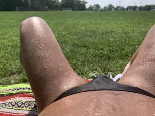 speedo, bikini, brief, sunbathing,Bayonne Park, outdoors,