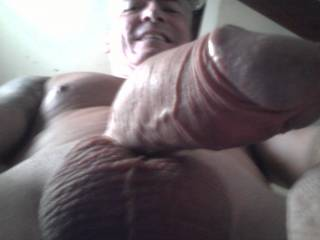 This is such a great angle!  I want to orally worship and take your tantalizingly beautiful cock down my throat!!!!