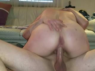 Nadja rides her new fuck buddy. As he pushes her finger in her ass she gets a intense orgasm.