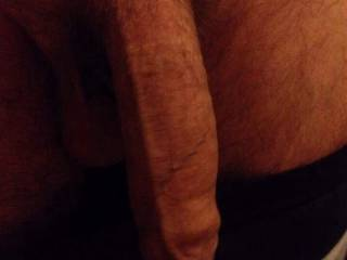 nice cock and ballls man// u ever want a mans mouth on that cock, msg me