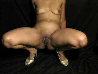 Mmmmm...  very very sexy, like to bend you over wearing your cfm heels..  damn gettin hard again :)  have to wank off over it again...  do you have a vid of your wearin your sexy black heels  :)   alan xxxx