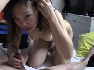 Diana eating cock
