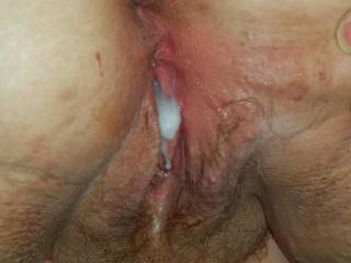 Another tasty creampie for you to lick