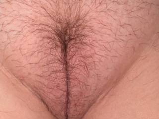 Wife\'s naked pussy before I fucked it.