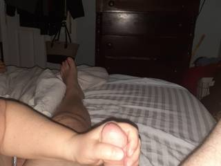 Sunday morning fun with my sexy wife