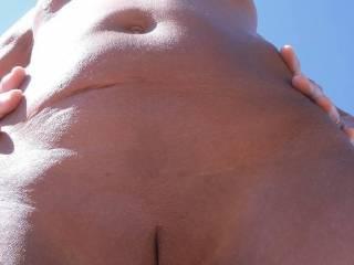 Wife on nudist beach
