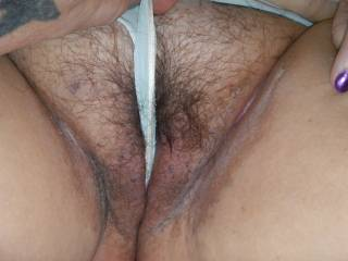 I want us to lick each others hot hairy pussies and suck on each others big nipples