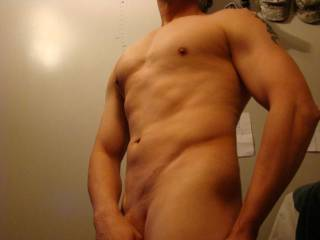 I think you look tight and hot!  Show some more pictures of yourself.  Send them to me!!!