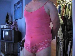pink is truly the perfect color for horny faggotty pussy boys. i have pinks on right now, massaging my little boy clit!