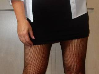 Mmm sliding my hand up your skirt pulling those panties down and sliding my fingers into your wet warm pussy as I suck on your nipples! That's what you want after a hard hormy day at work!