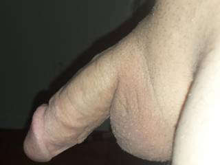 Nice shot....would love to get your cock nice and hard with my mouth!!