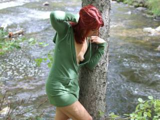 We just got another 12 inches of snow and it got me thinking about summer. I love summer, going on hikes and getting naked outdoors. Who wants to join me on a hike this summer?