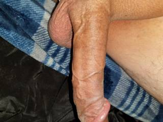Smooth shaved cock and balls