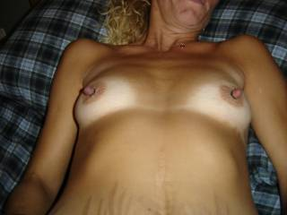 mmm me too...would love to shoot a massive load of cum all over those beauties