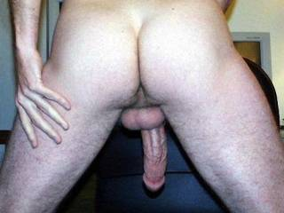On my knees, under that cock and sucking like a crazy woman!!!