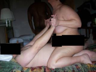 Getting fucked at a swing party by my date to the party