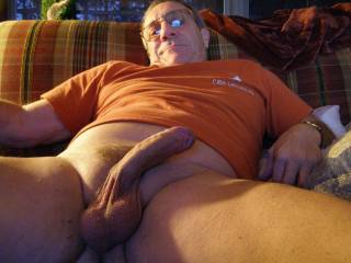 what a nice big cock and nice balls. want to suck your cock