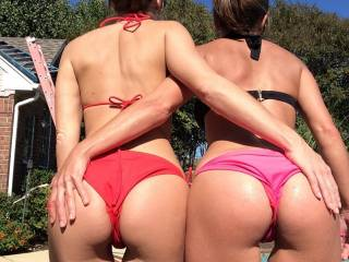 The fun that all three of us could have for three hours would be amazing. You two would be smiling for two reasons. 1 Very few men have a dick as long and thick as I have. 2 It takes me at least two hours to cum after that I can bust bout three big nuts. Most woman get sore and dry after and hour but I have a secret that keeps them really wet.