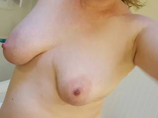Out of the shower... now the fun can begin... what do you have in mind?