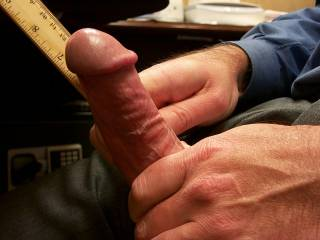Mmmmmmmmmmm...Your Sweet Meat looks Thick-n-Juicy enough for my Tight Lips...;~P