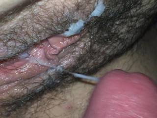 I love cumming deep, in and on a beautiful pussy