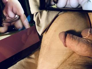 So horny right now, beginning to get hard.