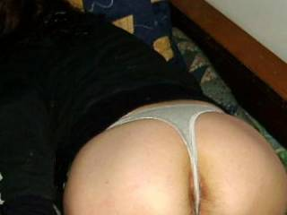 what a sweet looking ass you have, i'd love to ravage your pussy.