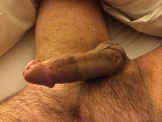 Ummmmmm....I love this pic the best......you have a gorgeous cock sweetheart......nice size, perfectly shaped cock head with a nice big flair on the back end of it.......I would love to feel it pop into my butt hole on it's way all the way deep into my ass.....and then feel you flex it inside meeee!!!!!  And then it would be wonderful hearing you groan real loud when you squirt a huge creamy cum load deep in my ass!!!