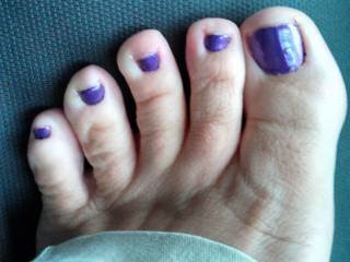 A close up for any foot lovers.