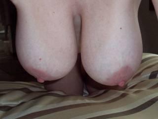 love my tits hanging