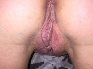 Horny wife posing for a series of pics before fucking