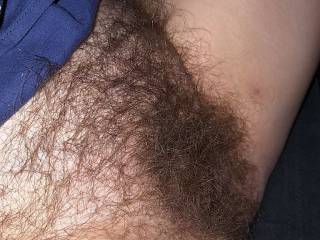 I love showing off my hairy pussy