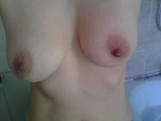 Magnificent! I'd love to fondle, lick, suck, and fuck before drenching them in my hot cum.