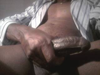 No not quite. Beautiful,big,thick,black, chocolate LasVegas Dick!!!!!!! ;-D